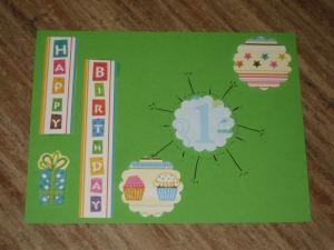 Karte zu Michel Johanns 1. Geburtstag